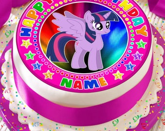 My Little Pony Edible Cake Topper Etsy