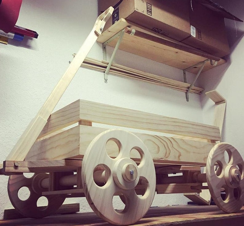 Wooden Wagon For Wedding Flower Girl Ring Bearer Baby Wedding Decor 1 2 Seater Stars Or Hearts Photo Prop Shown Infinished