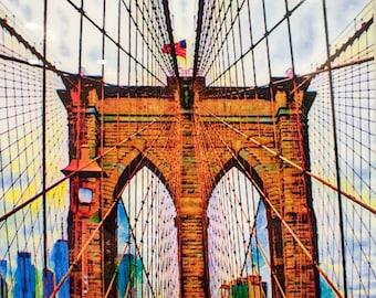 Cables: Brooklyn Bridge