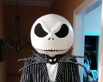 Jack Skellington Mask and Bow Tie
