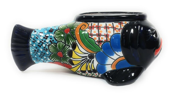 Talavera Wall Decor TURTLE H-4 L14 W-11 Authentic Mexican Pottery Hand Made