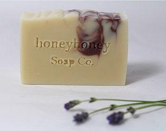 Lemongrass + Lavender Soap