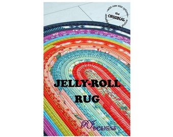 UPDATED! Jelly-Roll Rug (PDF pattern)