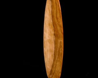 Wooden Ottertail Canoe Paddle