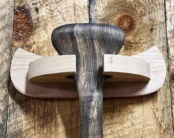 Paddle Display Holder - Canoe