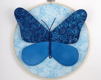 Butterfly Individual Wall Hanging - Blue