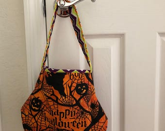 Patchwork Handmade Halloween Trick or Treat Bag
