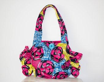 African fabric Bag/Purse