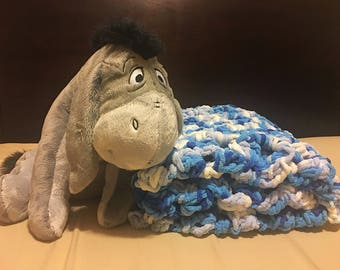 Blue Berry Baby Blanket