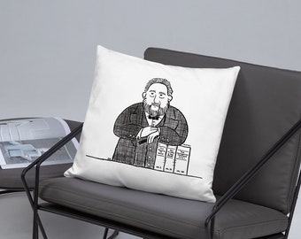 Prince of Preachers Pillow with Charles H. Spurgeon