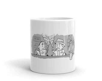Jack and Tollers in the Eagle and Child and on your mug!
