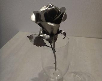 A Metal Rose