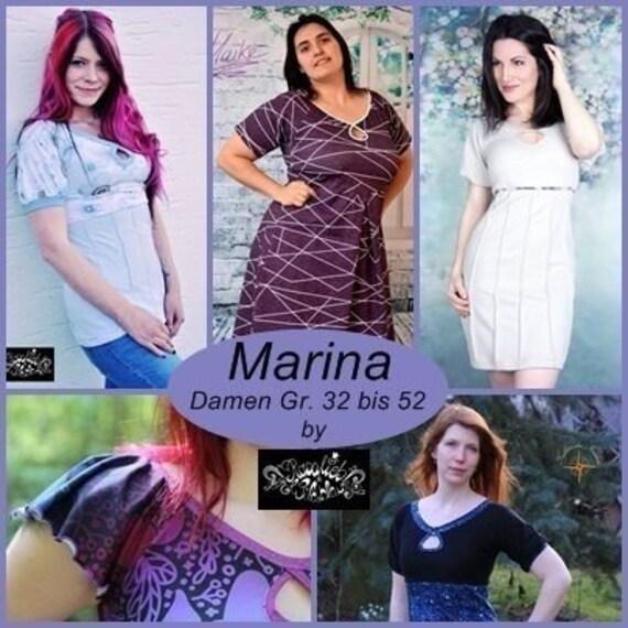 Ähnliche Artikel wie Marina Kleid & Shirt Gr. 32 bis 52 auf Etsy