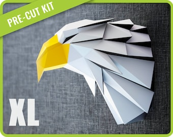 Amazon.com: Yellow Large 3D Origami Folded Paper Scrapbooking Dog ... | 270x340