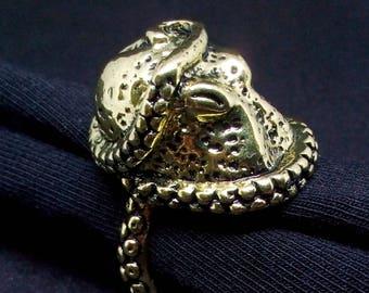 Octopus Ring Adjustable Jewelry
