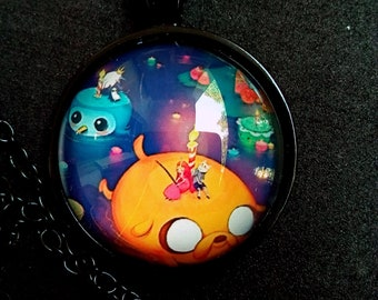 Adventure Time Necklace Pendant Jewelry