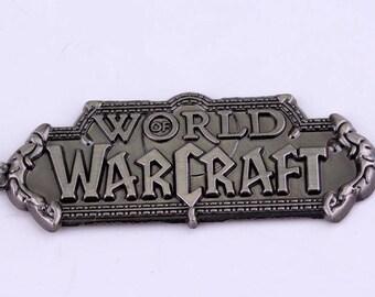 World of Warcraft Logo Keychain