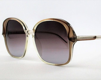 db662eb0e772 Original vintage Sunglasses Neostyle Mod.Cosmet Col. Trasparent brown