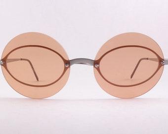 48fa231788a0 Emporio Armani 165-S Sunglasses round rare