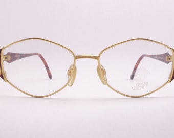 15f2250cc5 Gianni Versace V 48 vintage eyeglasses Made in Italy