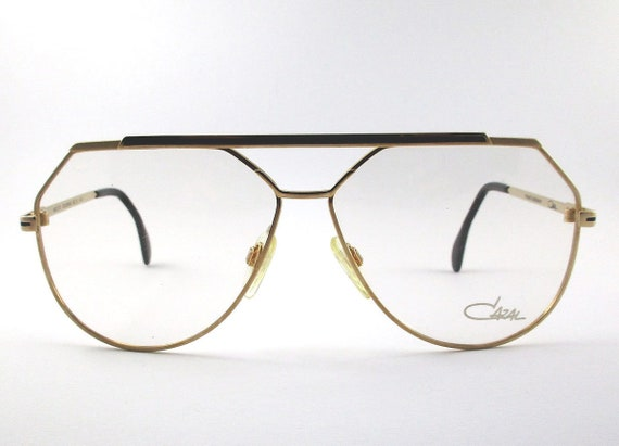 CAZAL 704 C.97 Square 80s Unique Rare Original Vintage Eyeglasses Frame Glasses Occhiali Lunettes Gafas Bril Glas\u00f6gon