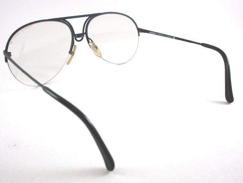 Original Vintage Eyeglasses Carrera Porsche Design Mod.5627 Col Black