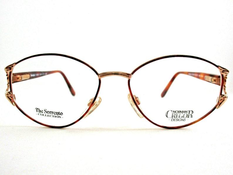 Sorrento Vintage eyeglasses S 1022 woman color gold