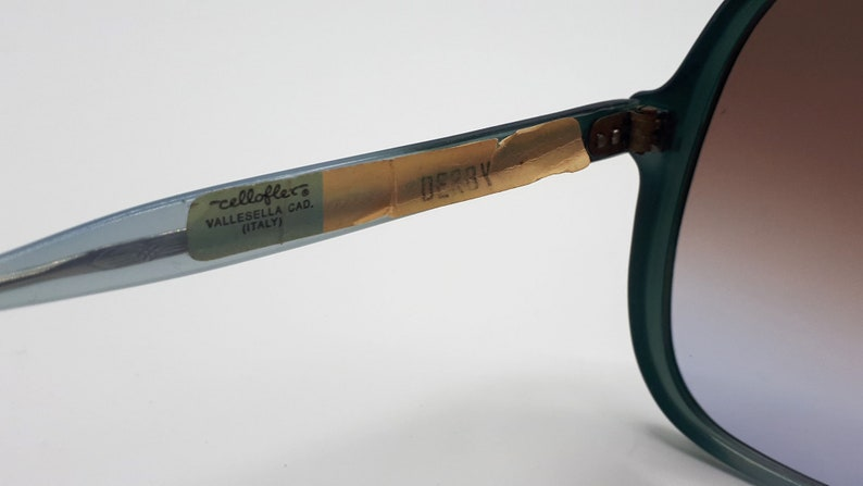 Vintage sunglasses Celloflex Mod Derby Rare made in Italy
