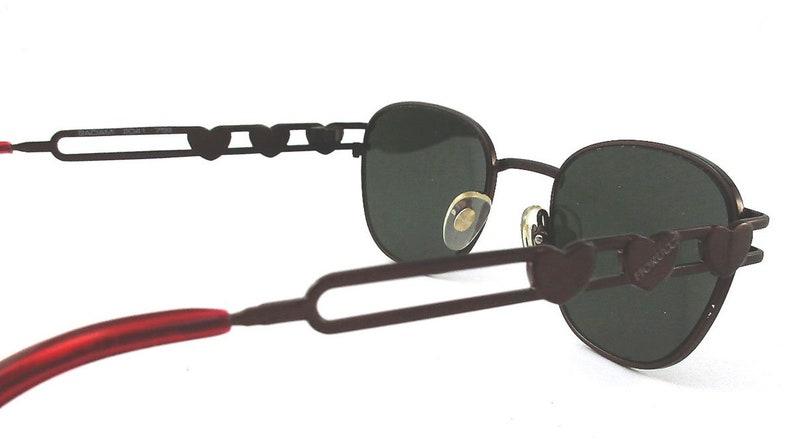Fiorucci sunglasses color red