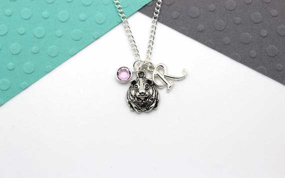 Personalised Guinea Pig Necklace