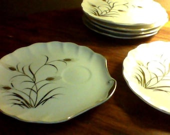 Handpainted plates - Lefton China