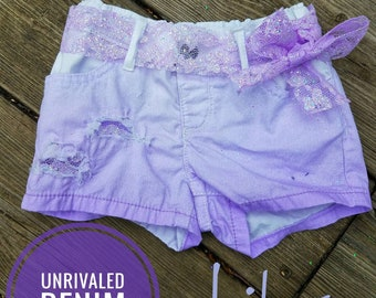 Lilac Spring Shorties