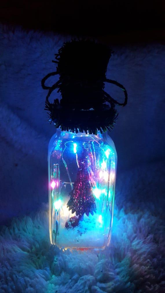 Led Weihnachtsbeleuchtung Baum.Mikro Baum Led Weihnachtsbeleuchtung Glas Urlaub Dekoration