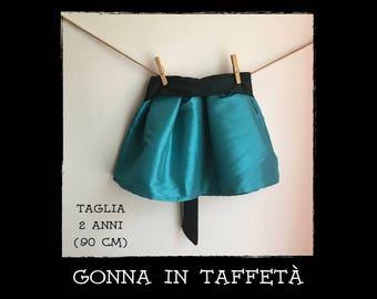elegant taffeta skirt
