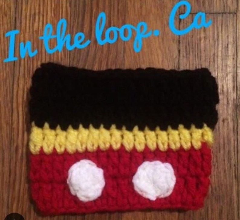 Mickey Mouse Cozie image 0