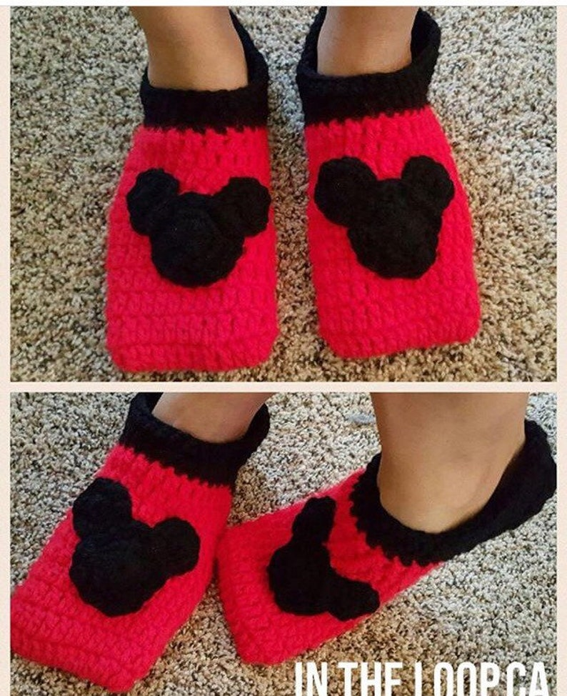 Mens Mickey Slippers image 0