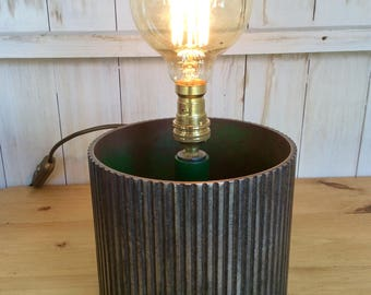 Upcycled Table Lamp
