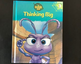 Disney/Pixar vintage 1998 hardback kids book