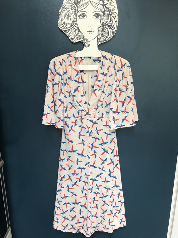 Late 60s iconic Lee Bender 'Bus Stop' dress highly