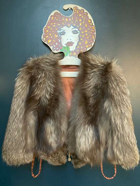 Vintage 1940's Stunning Fur Cape