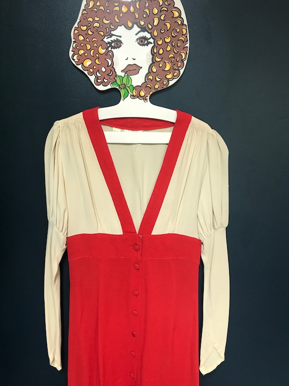 Ossie Clarke for Radley Moss Crepe plunge neck bra