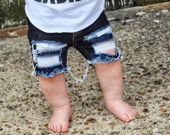 Darkest Skinny Boy Shorts