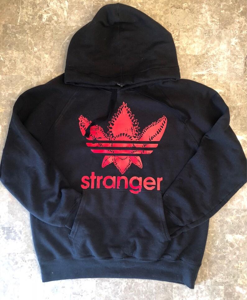 Stranger Things adidas demogorgon hoodie