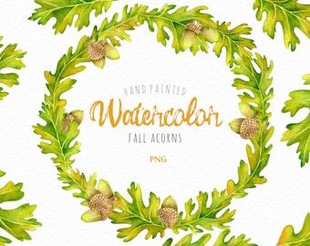 oak leaf wreath etsy