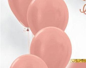 rose gold balloons giant balloons 40 foil balloon etsy