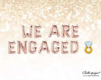 we are engaged etsy
