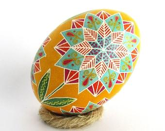 Handpainted Polish Wooden Easter Eggs Bakers Dozen Pysanky Pisanki by Pysanki 13 Pisanki