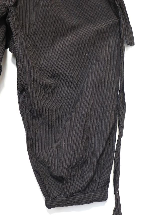 MONPE Vintage PANTS Japanese Indigo Stripe - image 3