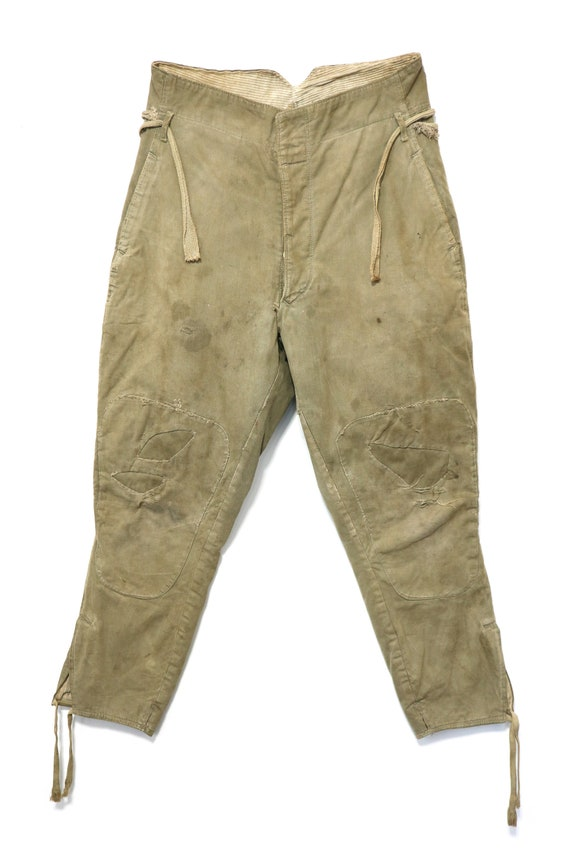 Japanese Vintage military Pants 1939 Army trousers