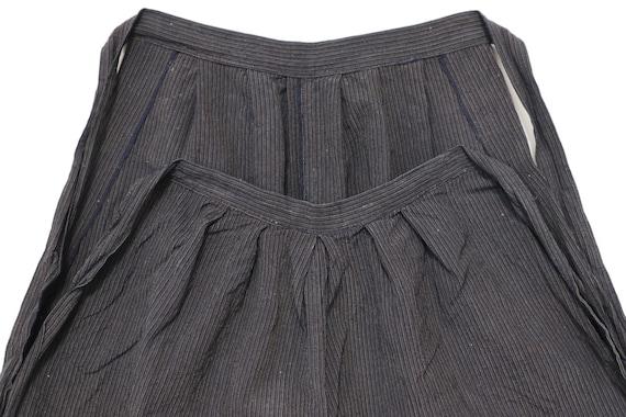 MONPE Vintage PANTS Japanese Indigo Stripe - image 2